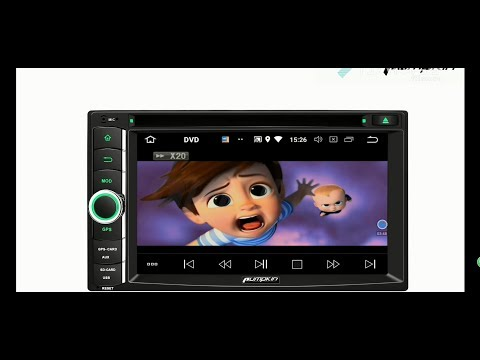 Android 8 0 car radio/stereo display 6.2 inch touch screen with DVD Player
