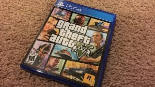 Unboxing GTA 5 for PS4(, 2014-11-18T08:17:34.000Z)