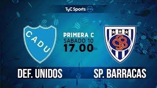 CA Defensores Unidos vs Sportivo Barracas full match