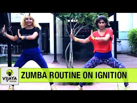 Zumba Warm-Up on Ignition | Zumba Dance Fitness | Choreographed by Vijaya Tupurani
