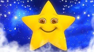 звезда свет звезда яркая | детские песни | рифмы на русском | Star Light Star Bright | Kids Rhymes