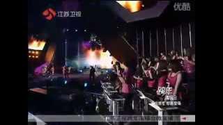 江苏卫视跨年演唱会黄立行 《音浪 》《 GO  》