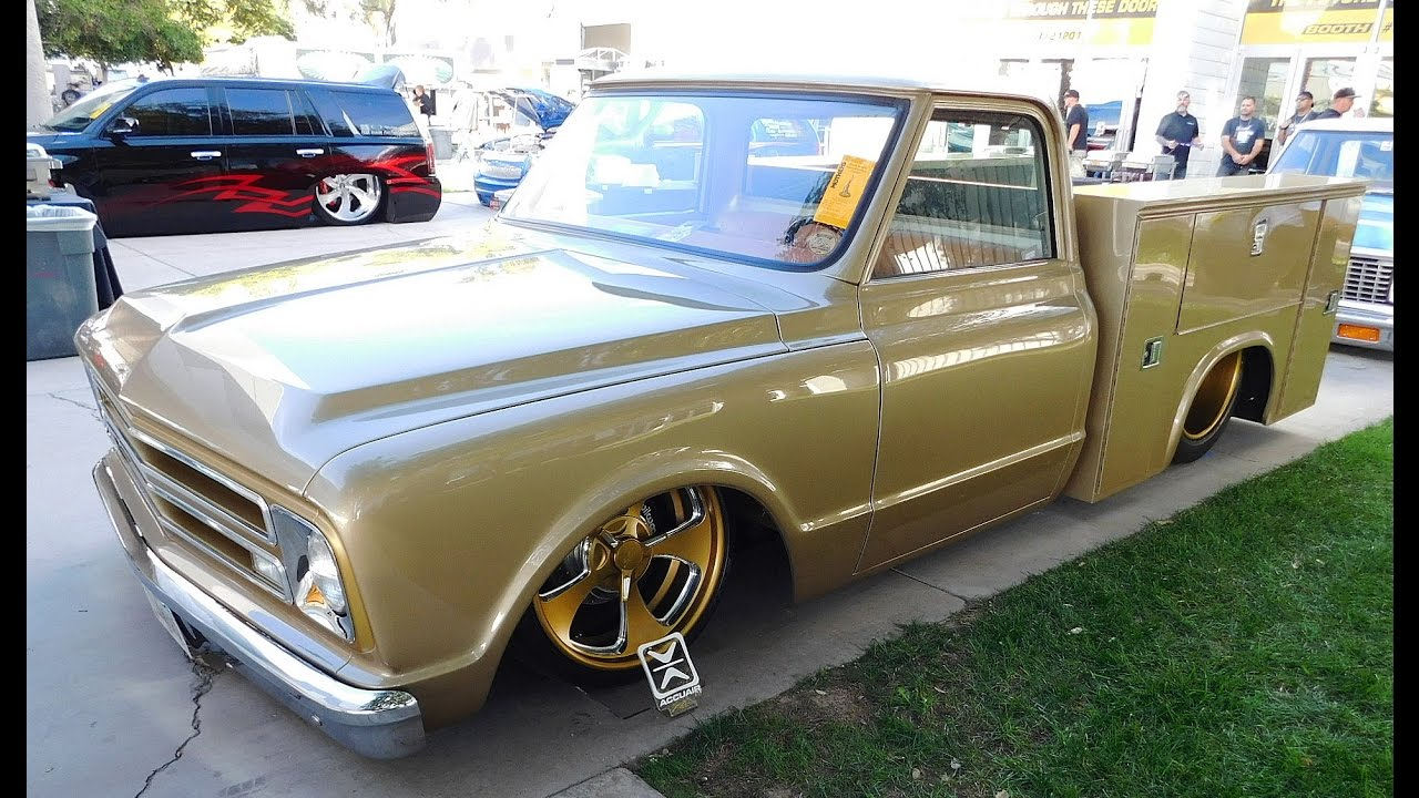 1969 Chevy Truck For Sale >> 1968 Chevrolet C/10 Utility Box Street Truck The SEMA Show 2016 - YouTube