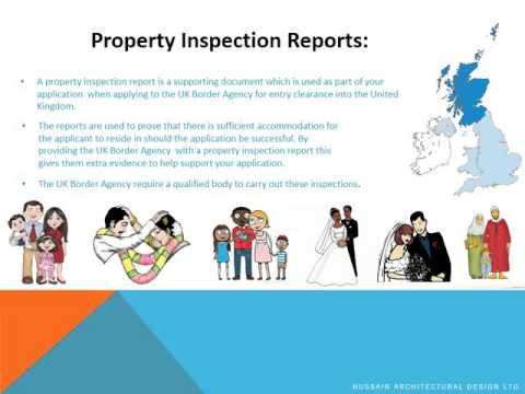 Property Inspection Report for UK Immigration London
