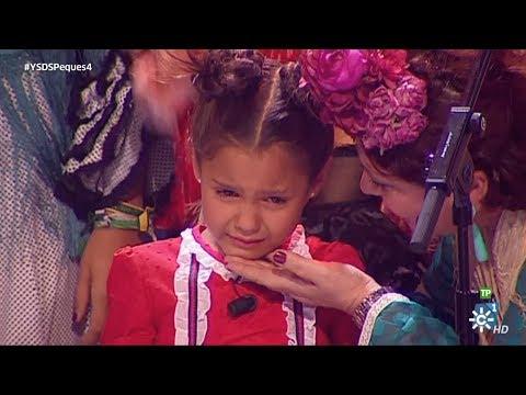 Yo soy del Sur Peques   Lágrimas de emoción de Manuela