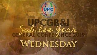 Wednesday Morning - UPCGBI Golden Jubilee General Conference 2019