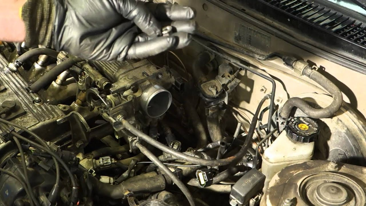 How to repair Toyota Corolla failure code 41 throttle body error message