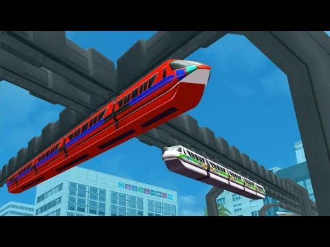 SKY TRAIN DRIVING SIMULATOR FREE GAMES #001 - Train Racing Simulator Games #q | Free Games Download