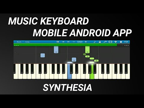 Music Keyboard Mobile Android App Synthesia 2022 keygen