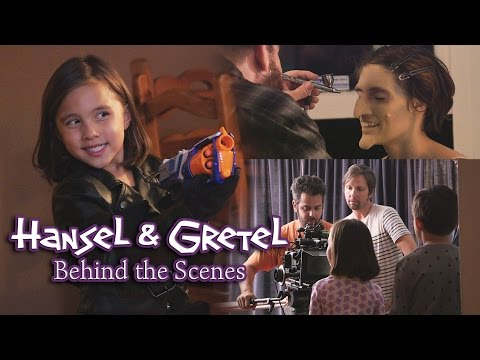 Hansel & Gretel: BEHIND THE SCENES - Maker Tales ft. EvanTubeHD & JillianTubeHD