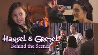 Hansel & Gretel: BEHIND THE SCENES - Maker Tales ft. EvanTubeHD & JillianTubeHD