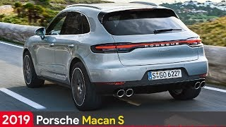 2019 Porsche Macan S ► New More Powerful Tubocharged V6 Engine
