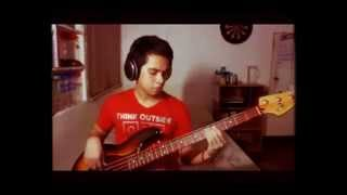 OO - Up Dharma Down (Bass Cover)