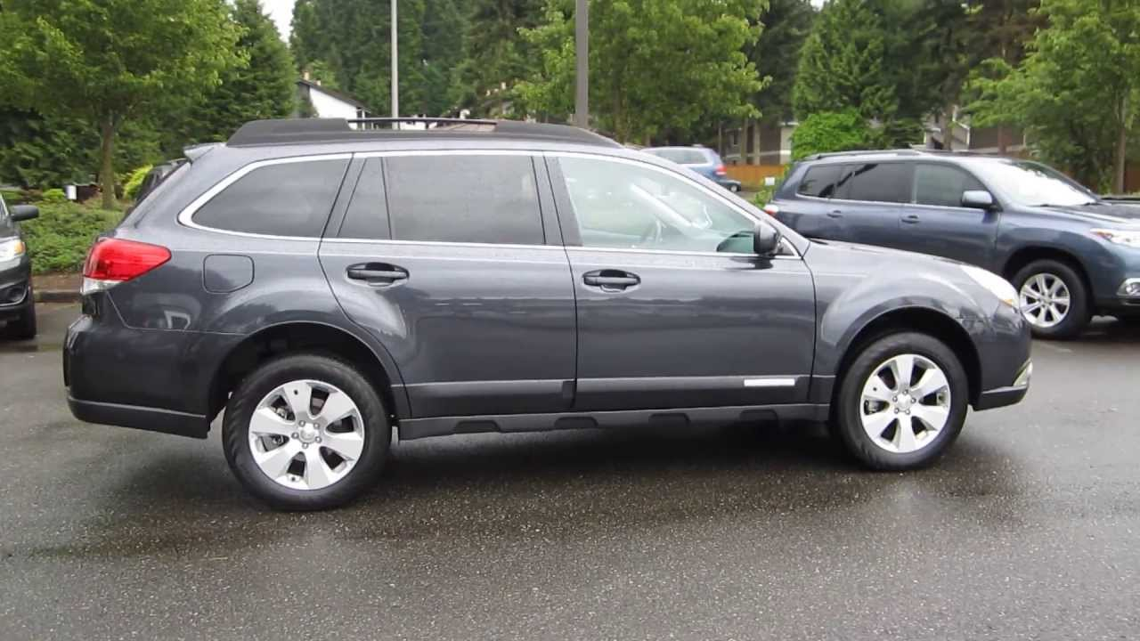 2011 Subaru Outback, Dark Gray Metallic - STOCK# 13518A - Walk around ...