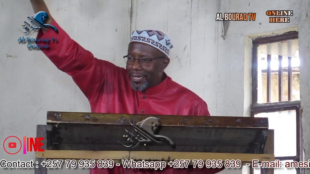 Download ALLAH ANAMTUKUZA  NA ANAMRUZUKU AMTAKAYE by MWALIM ABDI JOHN BURUNDI ( Hutuba ya tarehe 15-01-2021 )