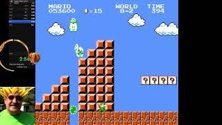 Todd Rogers' Super Mario Bros. 4:51.05 World Record