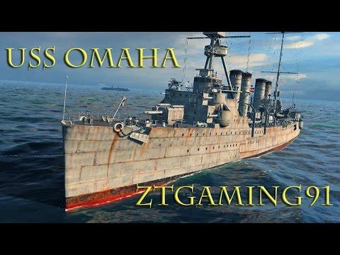 World of Warships -  Teir V USS Omaha