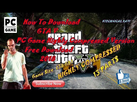 Download How To Download Gta 5 Highly Compressed Version