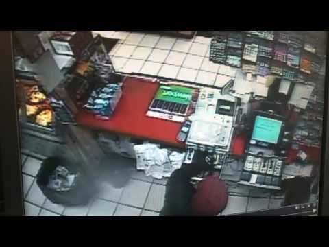 Surveillance video: Armed robbery at Staten Island deli