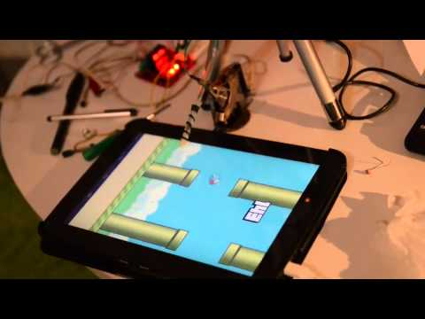 Robot to play Flappy Bird