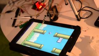 Repeat youtube video Robot to play Flappy Bird