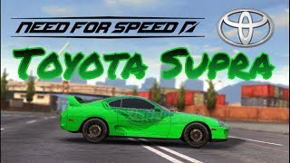Need for speed No Limits - Toyota Supra. #3