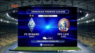 Динамо Львов 4 0 Обзор матча