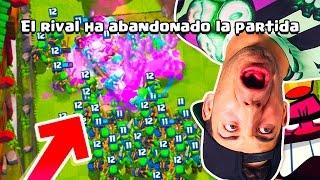 ¡¡EL MAZO PARA HACER QUE ABANDONE TU RIVAL!! MEJOR MAZO TROLL!   Clash Royale thumbnail