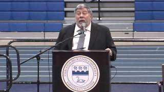 Steve Wozniak at Fairleigh Dickinson University