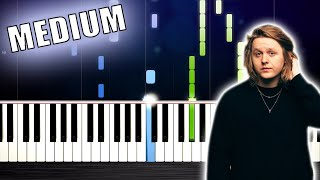 Lewis Capaldi - Someone You Loved - Piano Tutorial (MEDIUM) by PlutaX