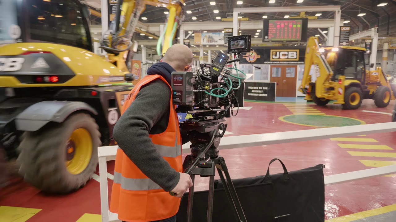Behind the Scenes - JCB Christmas Film 2017