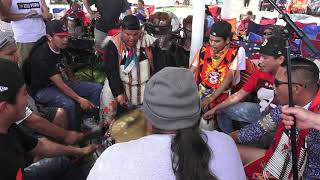 Nation Boys (Contest Song #1) @ Northern Ute 4th of July (Fort Duchesne) Powwow 2019 Resimi