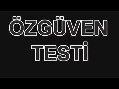 ÖZGÜVEN TESTİ / PSİKOLOJİK TESTLER #1