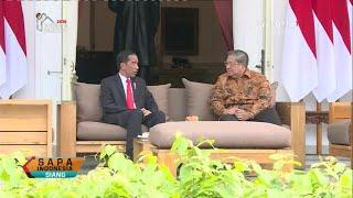 SBY Temui Presiden Jokowi di Istana