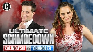 Mike Kalinowski VS Brianne Chandler II - Movie Trivia Schmoedown Tournament Round 2