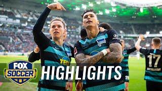 Mönchengladbach vs. Hertha BSC Berlin   2019 Bundesliga Highlights