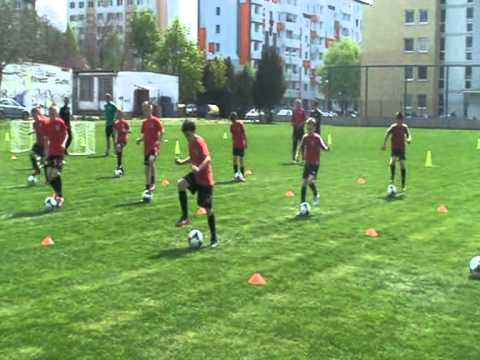 coerver training FC Spartak Trnava U10, U11 - SLOVAKIA