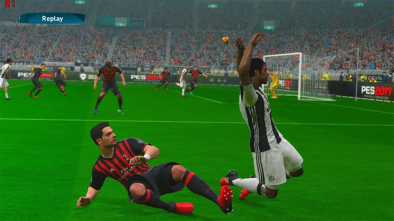 e4d3bd574 Juventus vs Milan Supercoppa Italia - PES 2017 Gameplay - YouTube