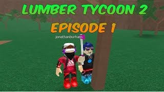 Roblox Lumber Tycoon 2   Episode 1   Cutting down trees!