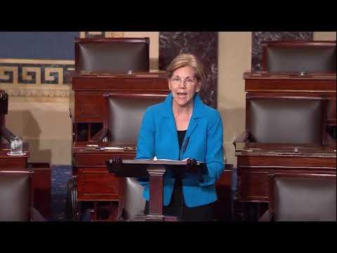Senator Warren Stands Against Trump