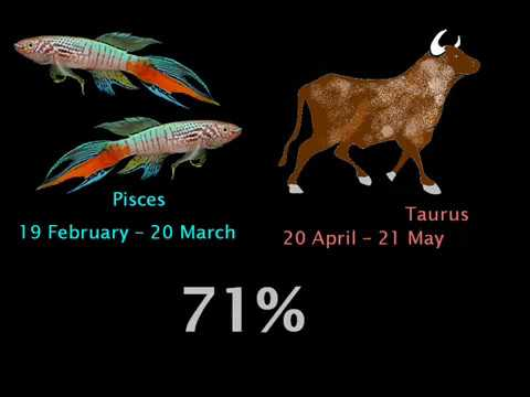 PISCES COMPATIBILITY WITH ZODIAC SIGNS