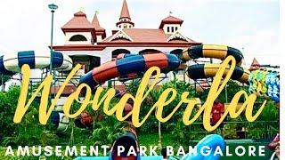 Bangalore Wonderla Amusement Park Tour in 20mts - All Dry Wet Rides *HD* thumbnail
