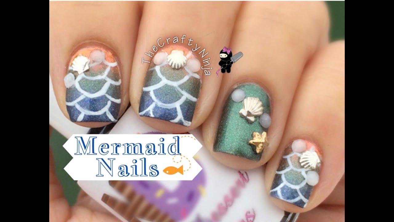 Nail Designs Mermaid | Best Nail Designs 2018