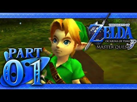 The Legend of Zelda: Ocarina of Time 3D (Master Quest) Part 1 - Great Deku  Tree