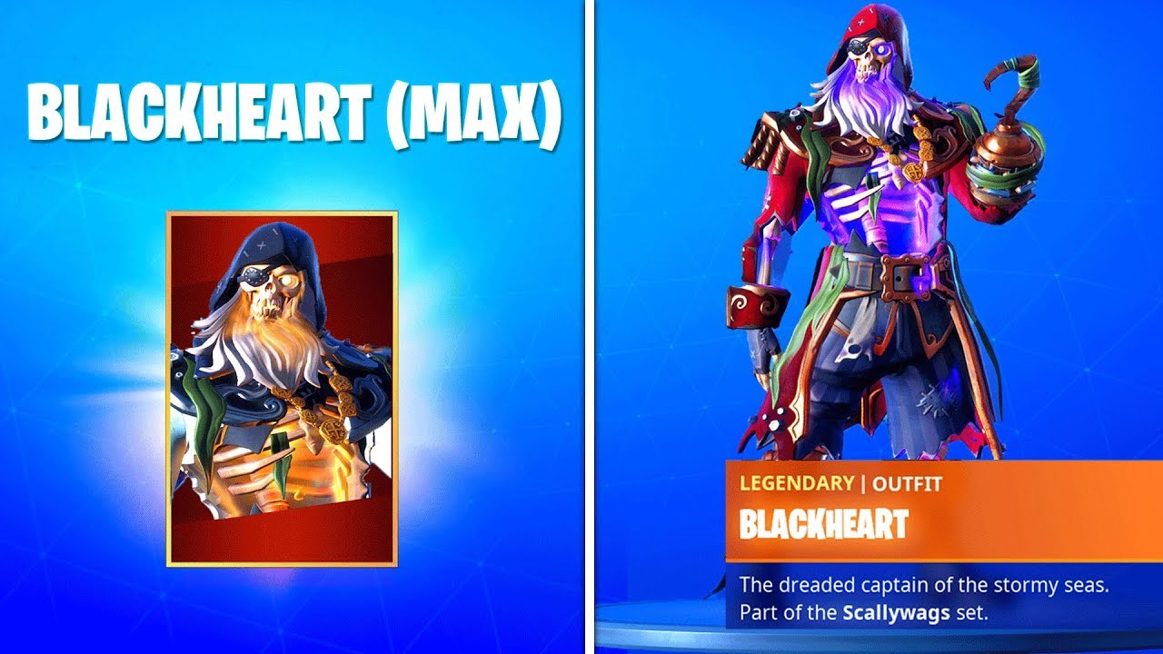 How To Get Max Blackheart Skin In Fortnite Season 8 Unlock