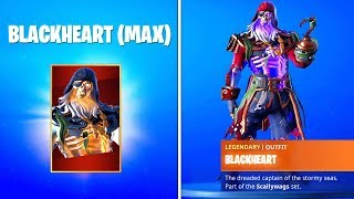 HOW TO GET MAX BLACKHEART SKIN IN FORTNITE SEASON 8! (UNLOCK BLACKHEART STAGES FREE REWARDS)