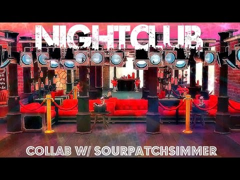 Sims 4 | Interior Design: Nightclub (w/ SourPatchSimmer)