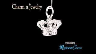 Crown Sterling Silver Charm Style 8250