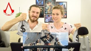 E3 Cinematic Trailer - Assassin's Creed 4 Black Flag   Реакция
