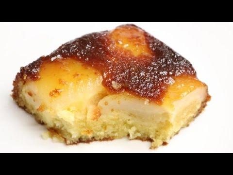 gÂteau-moelleux-aux-poires-caramÉlisÉes-facile-(cuisinerapide)